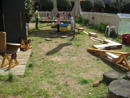 The old Outdoor Classroom